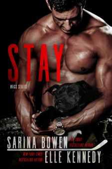 #BookReview STAY by Sarina Bowen & Elle Kennedy @SarinaBowen @ElleKennedy @ninabocci