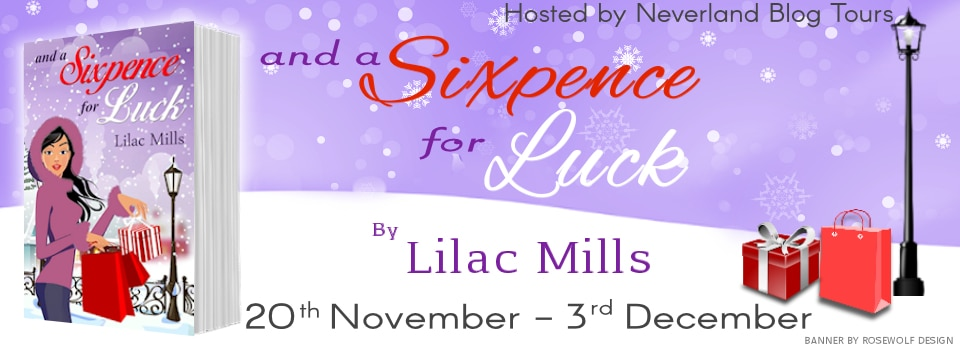 #BookReview #BlogTour and a Sixpence for Luck by Lilac Mills @LilacMills @NeverlandBT