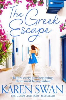 #BookReview The Greek Escape by Karen Swan @KarenSwan1 @PGCBooks @panmacmillan