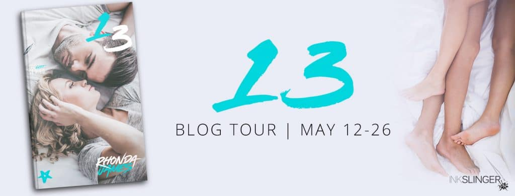 #BlogTour #Excerpt #Giveaway 13 by Rhonda James @AuthorRljames @InkSlingerPR