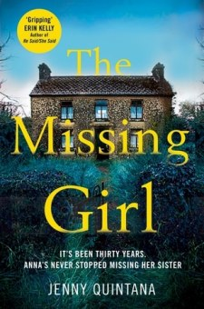 #BookReview The Missing Girl by Jenny Quintana @jennyquintana95 @PGCBooks @panmacmillan