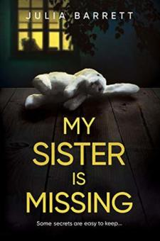 #BlogTour #BookReview My Sister is Missing by Julia Barrett @Julia_Barrett_ @RedDoorBooks #MySisterisMissing