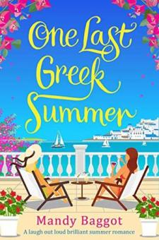 #BlogTour & #BookReview One Last Greek Summer by Mandy Baggot @mandybaggot @Aria_Fiction