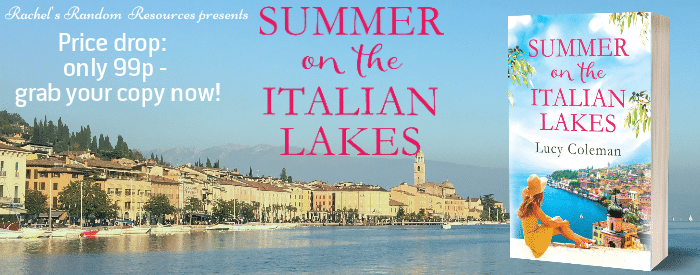 #Pricedrop #BookReview #Giveaway Summer on the Italian Lakes by Lucy Coleman @LucyColemanAuth @aria_fiction @rararesources