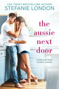 #BookReview The Aussie Next Door by Stefanie London @Stefanie_London @entangledpub