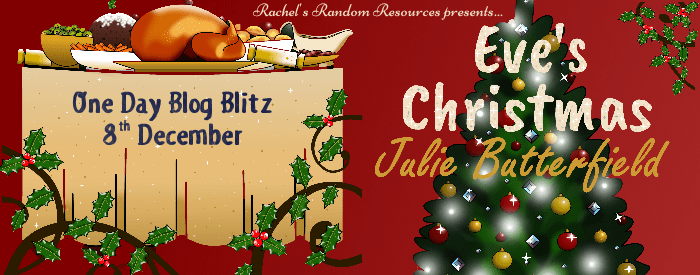 #BookReview #BlogTour #Giveaway Eve's Christmas by Julie Butterfield @juliebeewriter @rararesources
