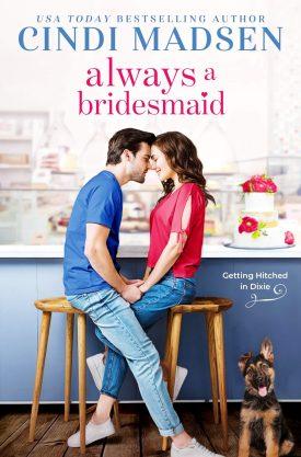 #BookReview Always a Bridesmaid by Cindi Madsen @CindiMadsen @entangledpub #CindiMadsen #GettingHitchedinDixie