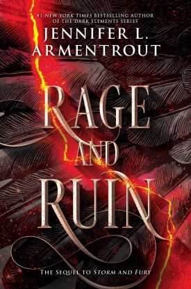 #BookReview Rage & Ruin (The Harbinger #2) by Jennifer L. Armentrout @JLArmentrout @InkyardPress @HarlequinBooks @Bookclubbish #HarlequinPublicityTeam #TheHarbingerSeries #JenniferLArmentrout