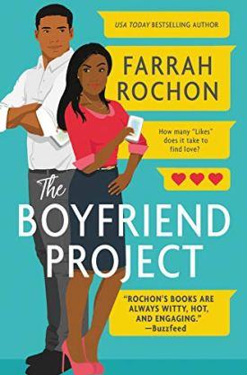 #BookReview The Boyfriend Project by Farrah Rochon @FarrahRochon @ReadForeverPub @GrandCentralPub #ReadForever #Forever20 #FarrahRochon #TheBoyfriendProject