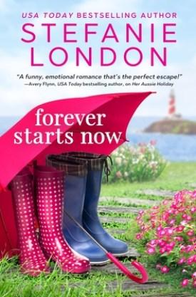 #BookReview Forever Starts Now by Stefanie London @Stefanie_London @entangledpub @angelamelamud #ForeverStartsNow #StefanieLondon