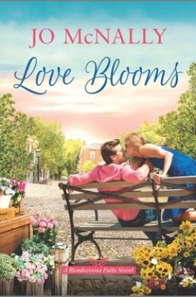 #BookReview Love Blooms by Jo McNally @JoMcNallyAuthor @KayePublicity @HarlequinBooks #JoMcNally #LoveBlooms #RendezvousFalls