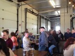 A full house in the tasting room at Glasstown Brewing Co.