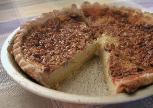 Old Fashioned Buttermilk Pie Recipe, Whats Cooking America