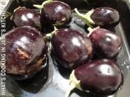 Aubergines From The Kitchen Garden
