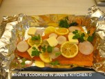 Canadian or Scottish Fresh Salmon Cooked In a Papillote ©