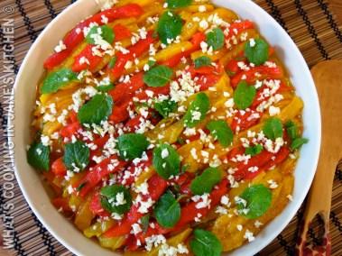 Bell Pepper Salad ©