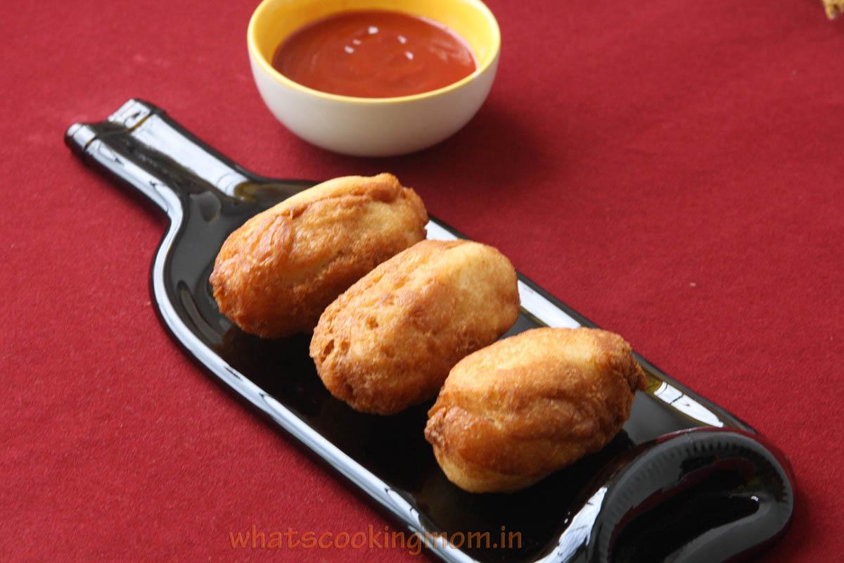 Bread rolls - vegetarian, Indian, breakfast, snack, school lunch box ideas, kids tiffin ideas