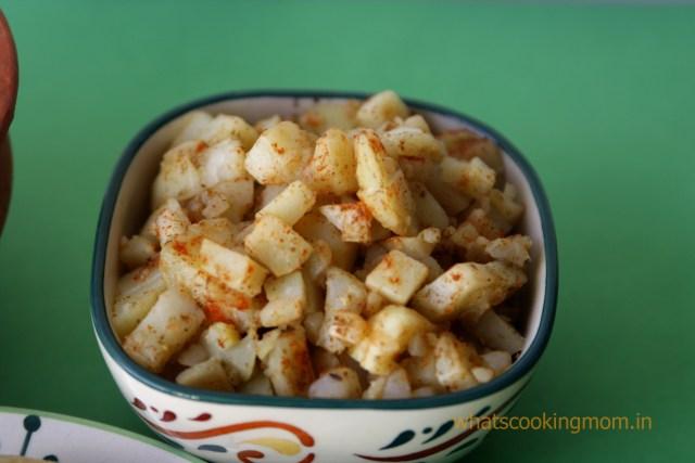 potato mixture
