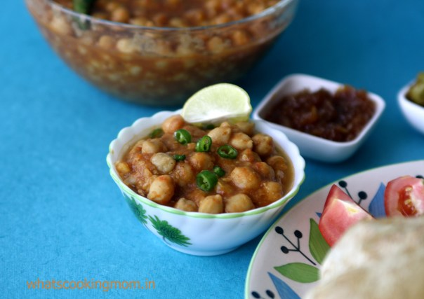 chole bhature - fried vegetarian snack, breakfast, indian food, comfort food
