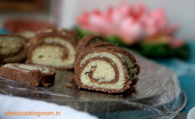 choco mawa roll