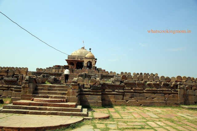 Harshat mata temple1