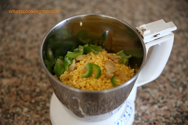 Moong dal dhokla - vegetarian, snack, breakfast, school lunch box, healthy, Indian, tiffin box ideas | whatscookingmom.in