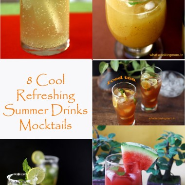 8 Summer drinks Mocktails