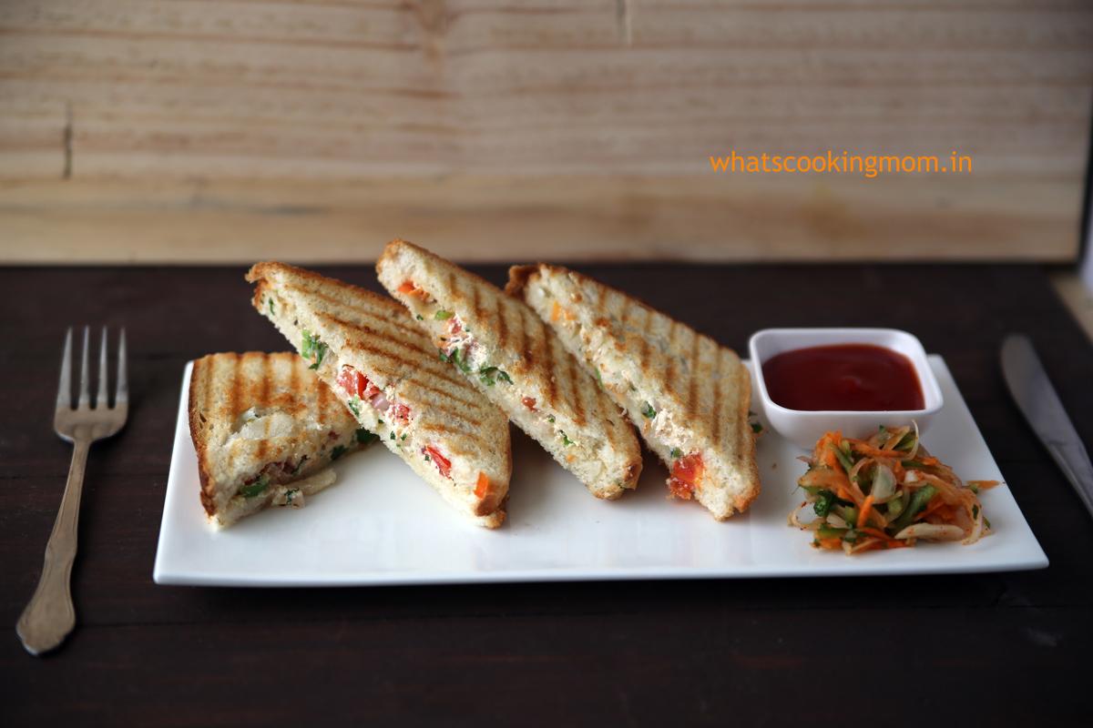 hung curd sandwich 1