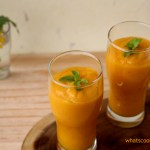 mango peach smoothie | Healthy Drink
