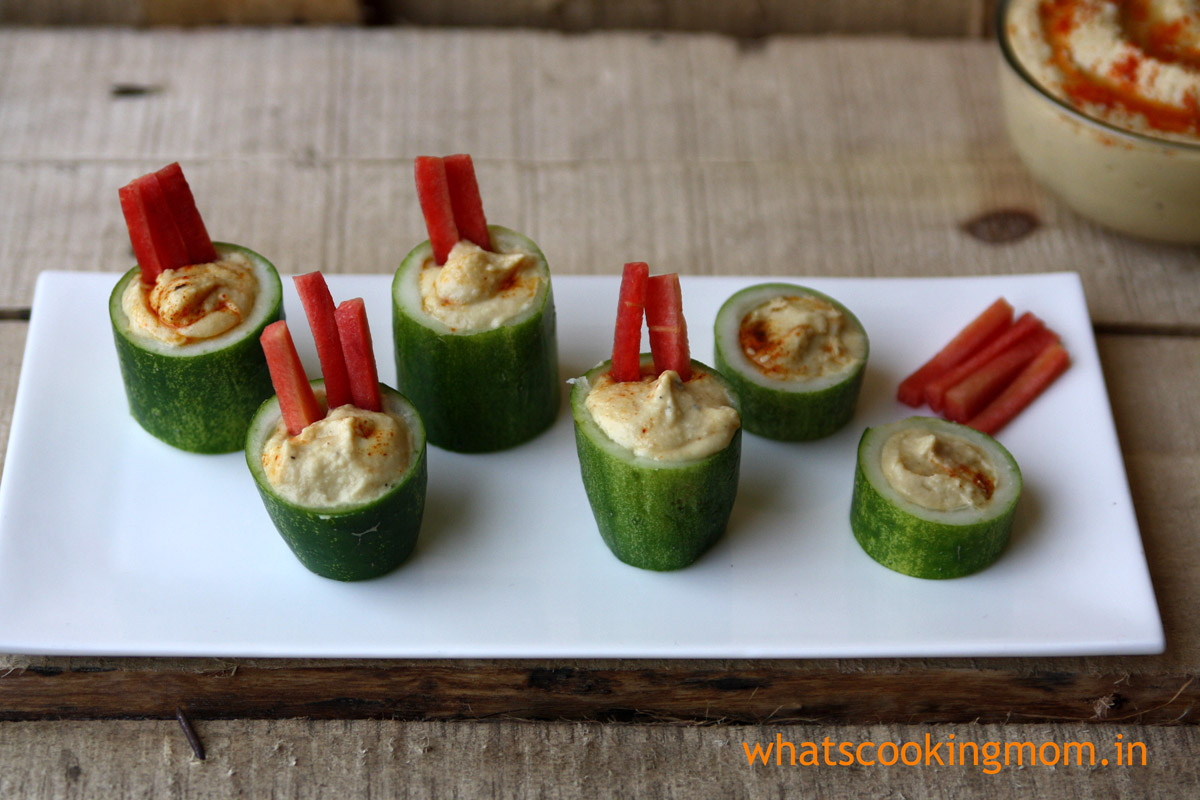 hummus - healthy yummy protein packed snack