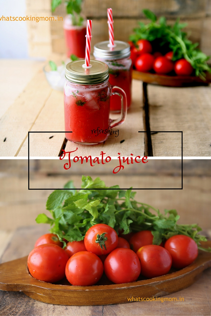 tomato juice - fresh, homemade, healthy, summer drink