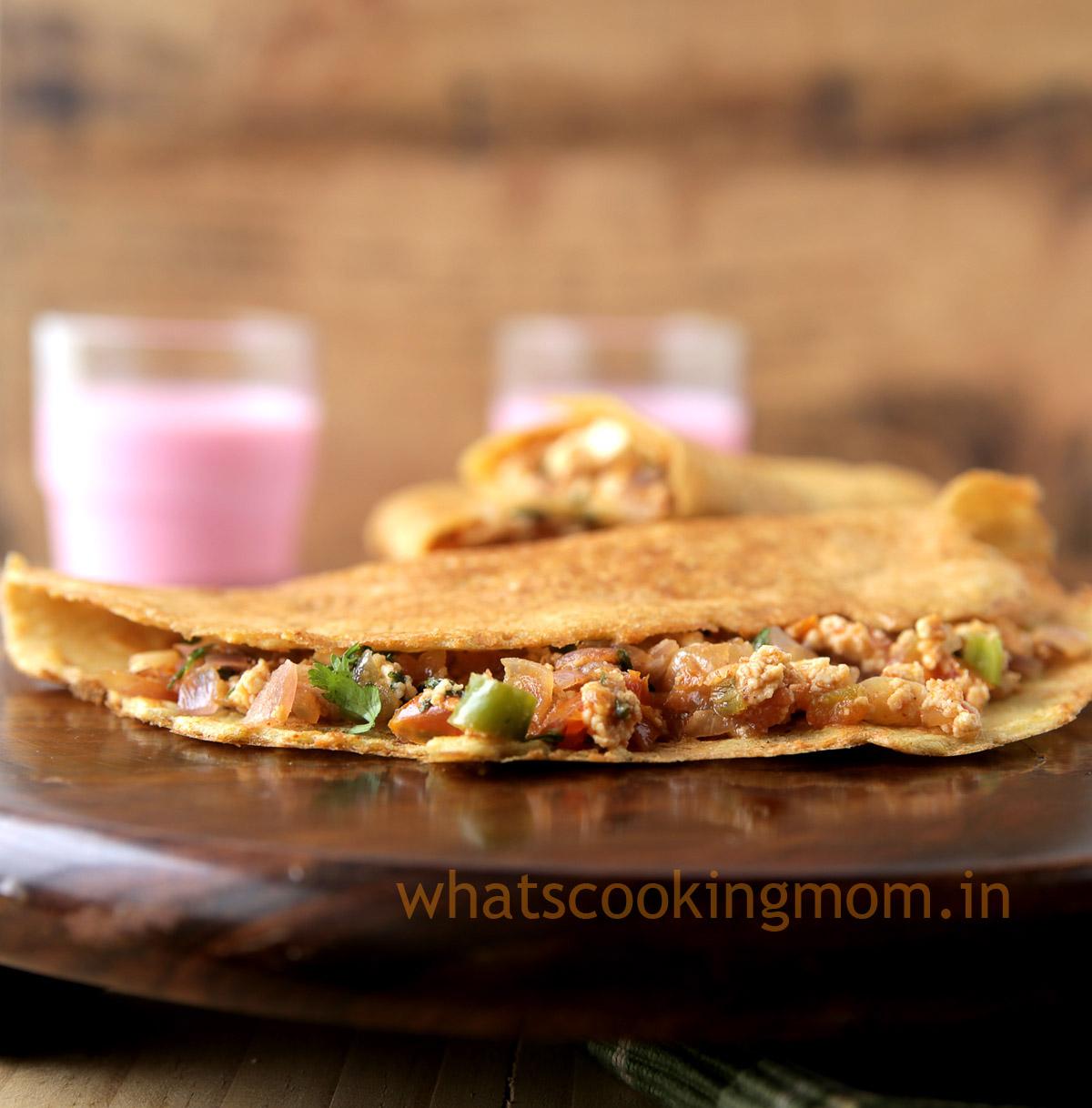 Moong Dal Cheela - lentil pancakes , healthy , vegetarian, snack, breakfast, kids tiffin box, Indian food