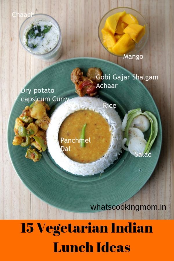 15 Vegetarian Indian Lunch Ideas - #vegetarian #lunchideas #indianfood