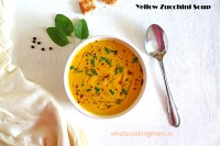 Yellow Zucchini Soup - of all the #winterfoods this #healthy #nutritious #yellowzucchinisoup is my favourite.
