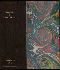 A treatise of all sorts of foods, both animal and vegetable, also of drinkables, front cover