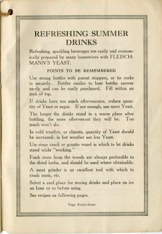 advice for making summer drinks