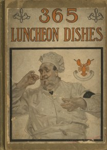 front cover: chef in hat and white coat