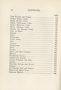 table of contents, page 2