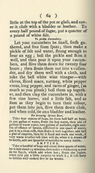 Sample recipes