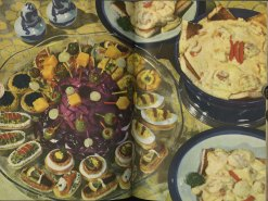 Hors d'oeuvres from Culinary Arts Institute encyclopedic cookbook, 1948