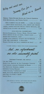 Short menu