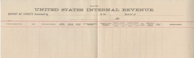 Bureau of Internal Revenue, Form 183, Report of Distilled Spirits (Page 2)