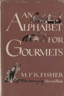 An Alphabet for Gourmets, front cover