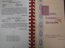 Bread of Life, 1996, Biscuit recipes and introductory page for dessert recipes
