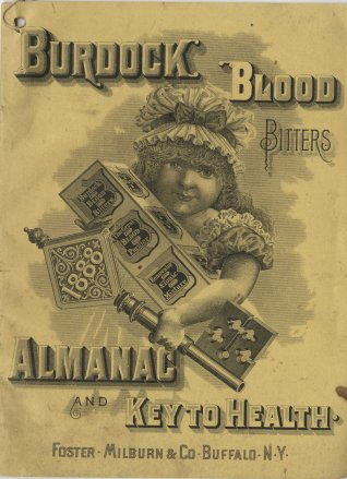 Burdock Blood Bitters: Almanac and Key to Health, 1888.