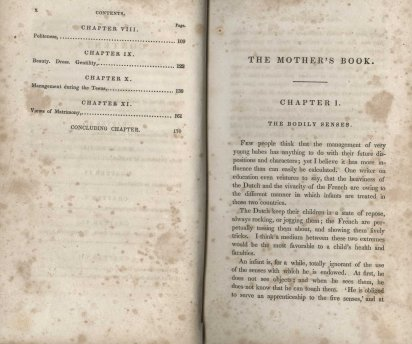 The Mother's Book, 1844