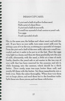 Recipe from the 1998 reprint of Corn Meal Cookery, originally published in 1846