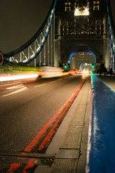 London Bridge Night Long Exposure