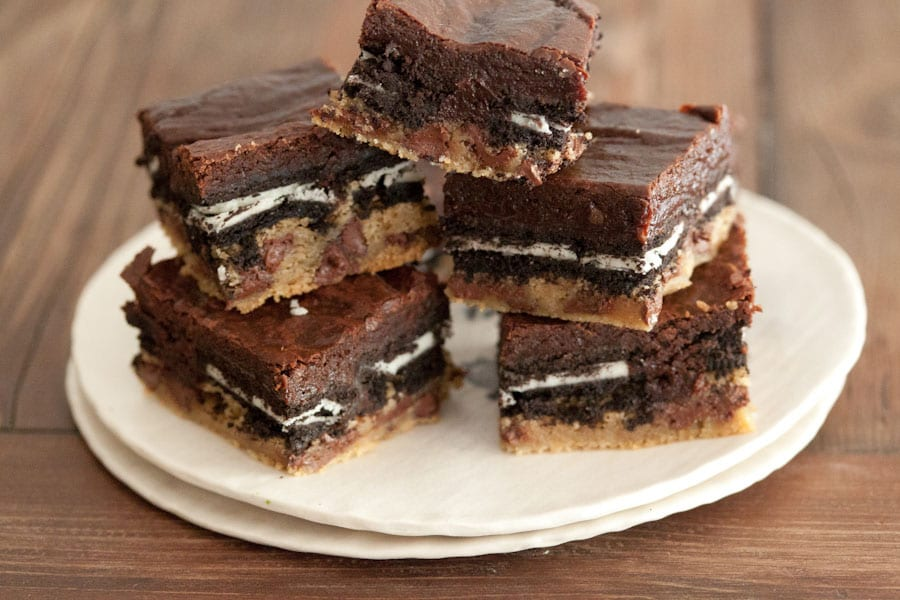The Original Homemade Slutty Brownies from www.whatsgabycooking.com (@whatsgabycookin)