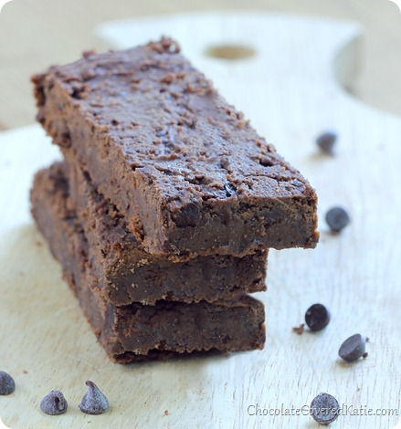chocolate fudge brownie protein bars
